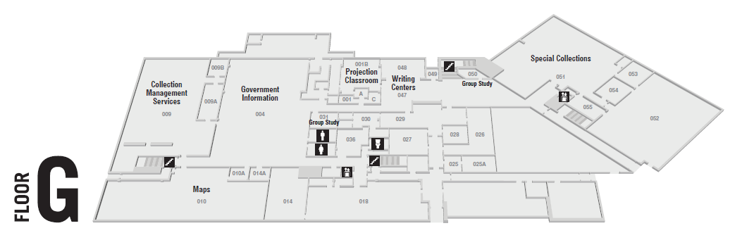 Bailey/Howe Library Floor Plans | BaileyHowe Library
