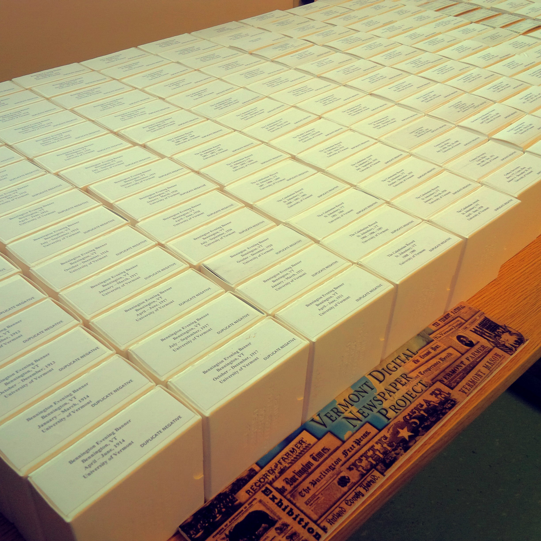 Vtdnp phase 2 microfilm reels