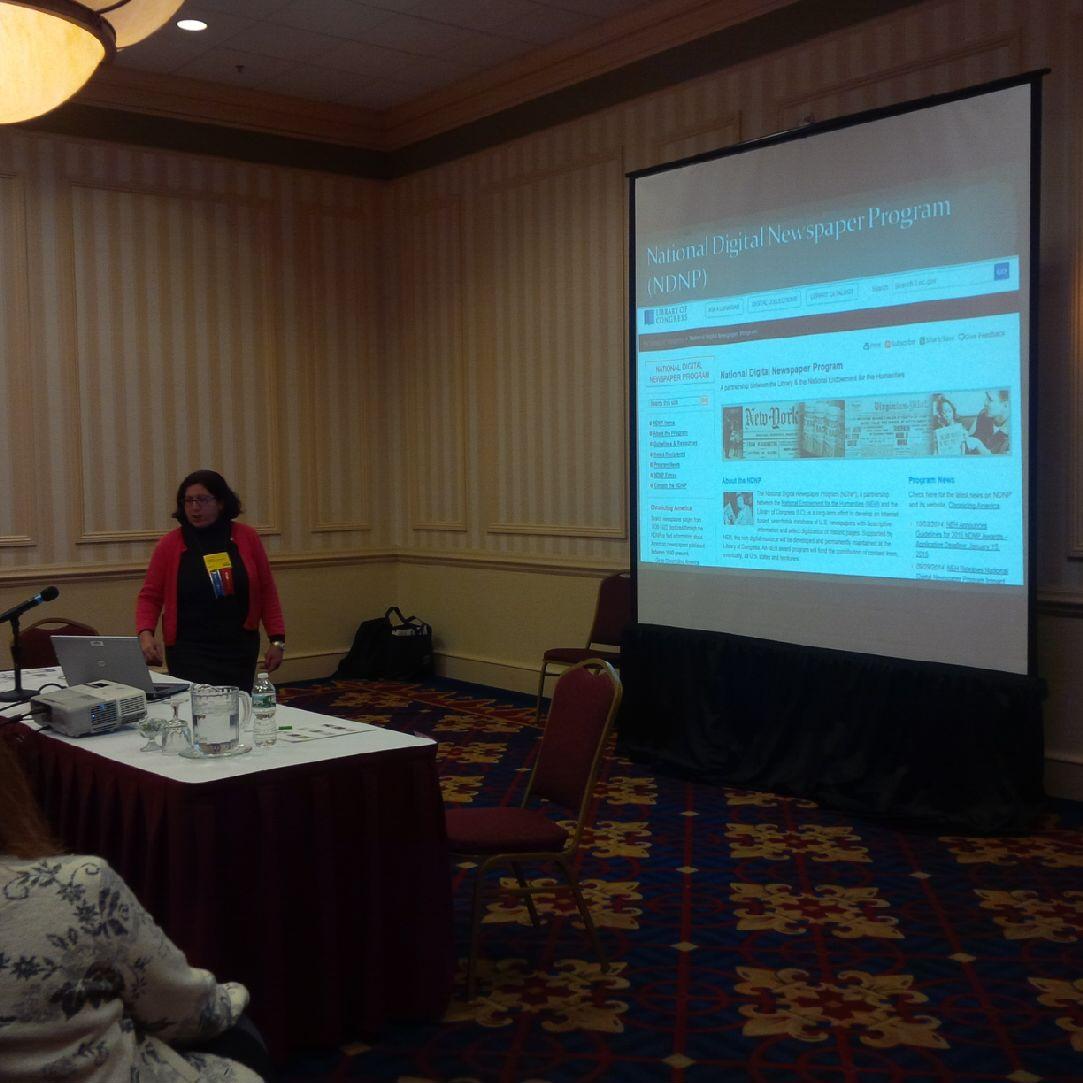 Gail Hurley CTDNP at NELA 2014
