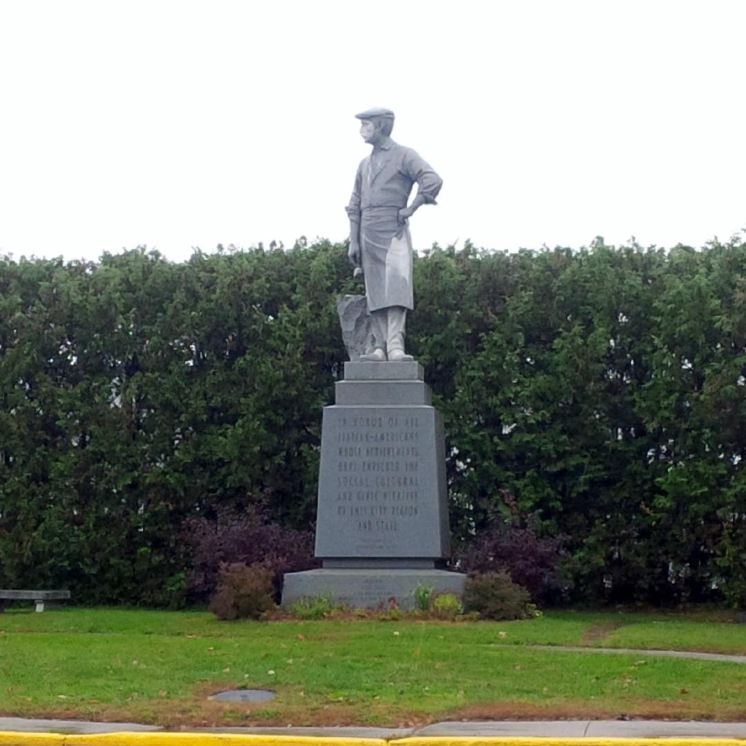 Italian American Immigrant sculptor in Barre VT