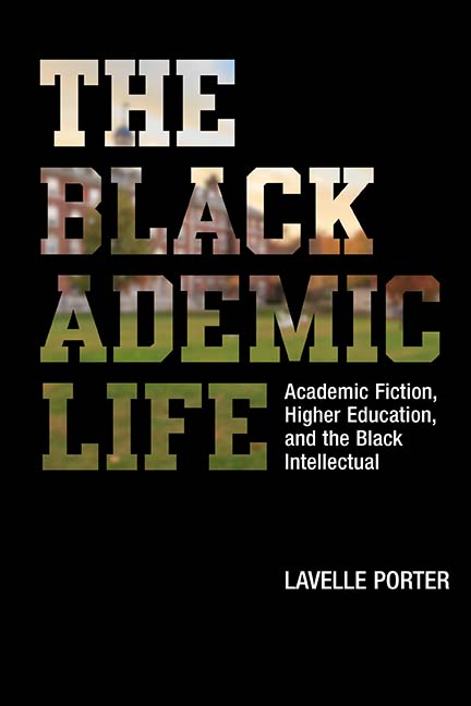 Book cover, black with capital letters, THE BLACKADEMIC LIFE