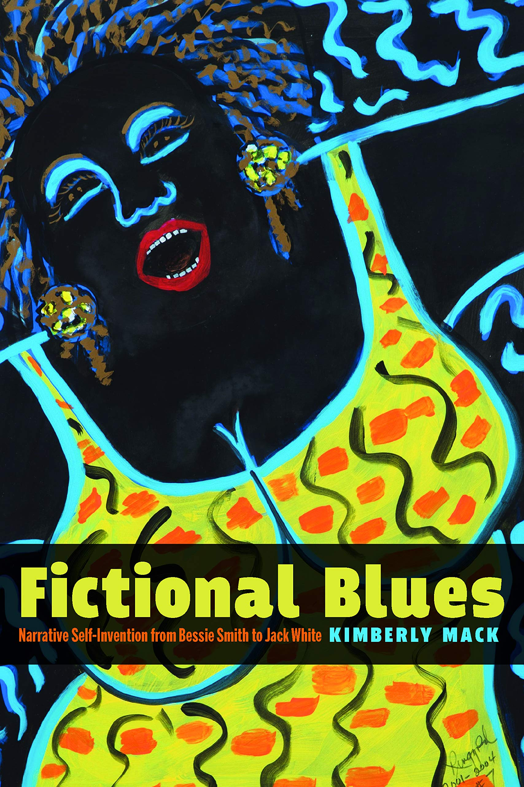Fictional Blues book cover