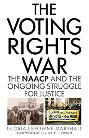 The Voting Rights War book cover